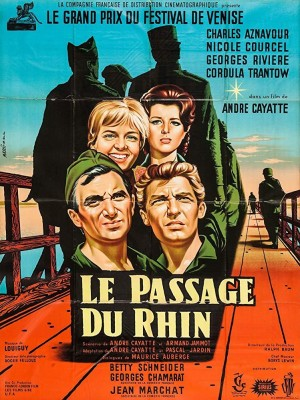 横渡莱茵河 Le Passage du Rhin (1960) 中文字幕