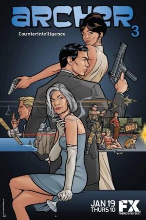 風流.007 第三季 Archer Season 3 (2011)  Netflix 中文字幕