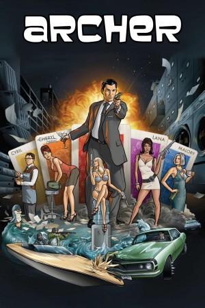 风流007  第一季 Archer Season 1 (2009) Netflix 中文字幕