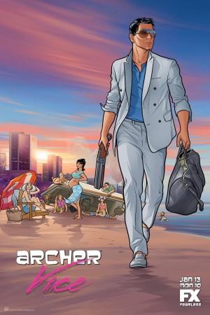 風流007 第五季 Archer Season 5 (2014)  Netflix 中文字幕