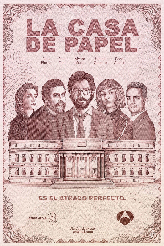 【西班牙剧】纸钞屋 第一季 La casa de papel  (2017)