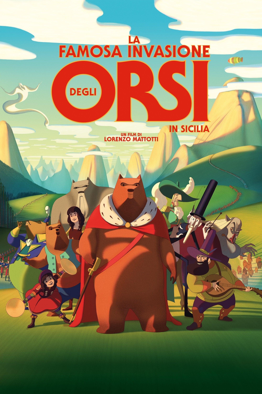 西西里著名的熊入侵事件 La Fameuse Invasion des ours en Sicile (2019)
