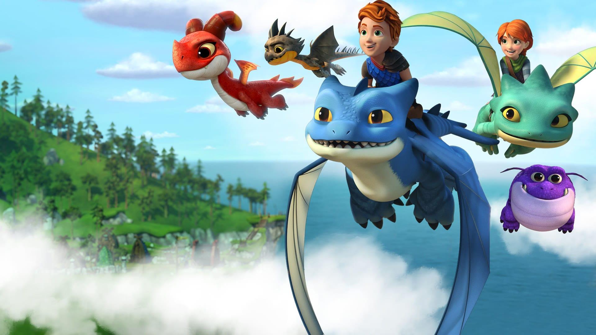 龙族:救援骑士:寻找黄金龙 Dragons: Rescue Riders: Hunt for the Golden Dragon (2020)