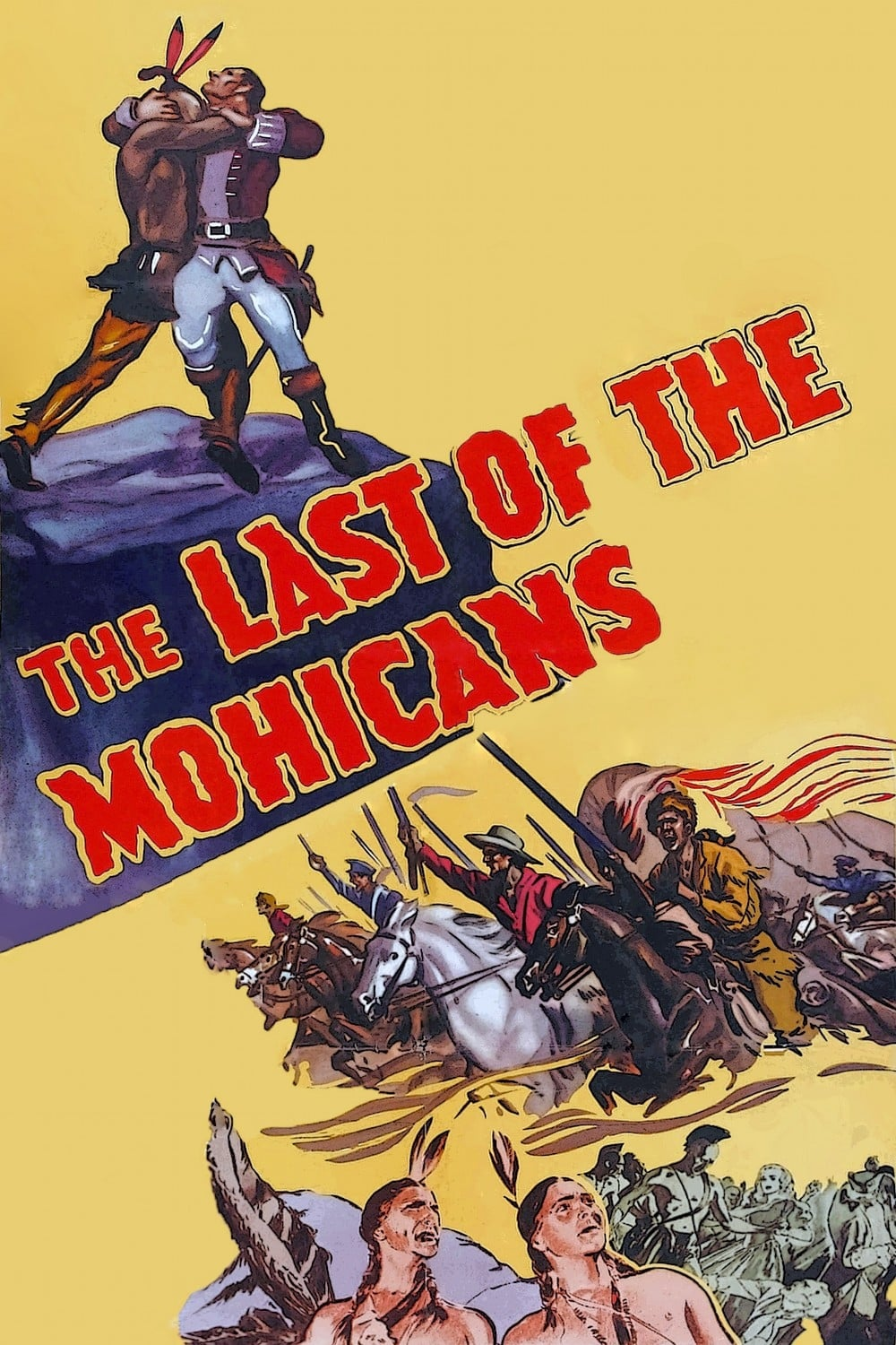 最后的莫希干人 Last of the Mohicans (1936) 中文字幕